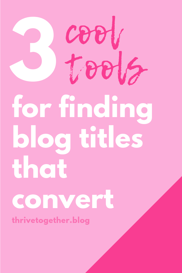 How to find blog titles that convert, and create awesome topics on your blog.