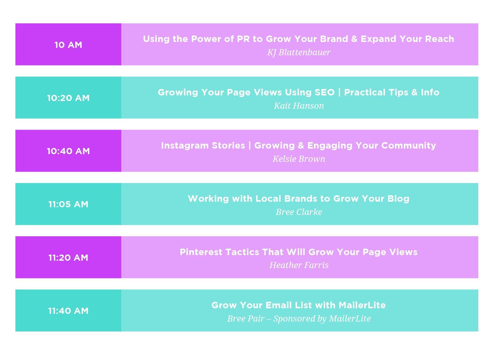 WEB-schedule