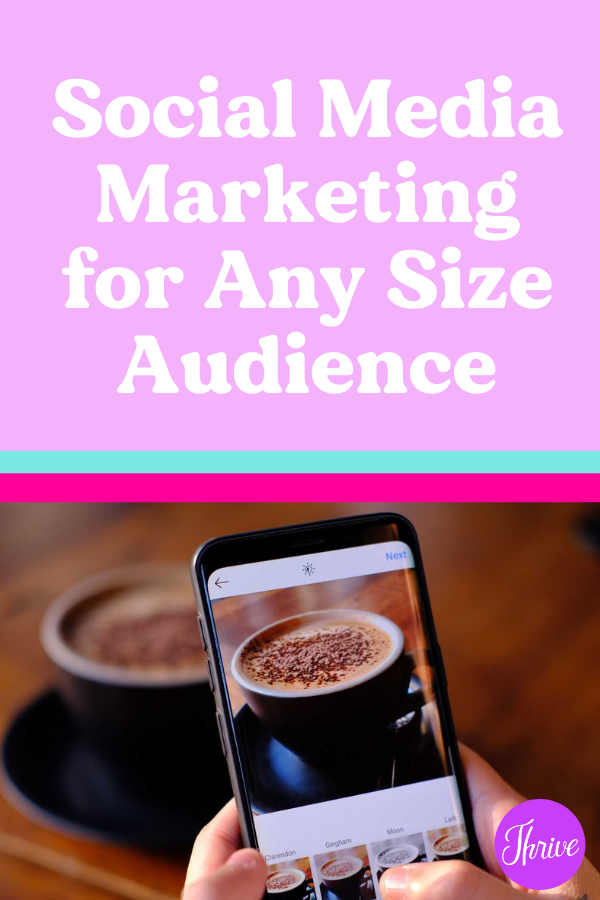 Social Media Marketing for Any Size Audience