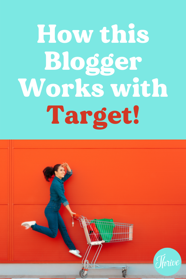 How to partner with big brands like Target as a blogger